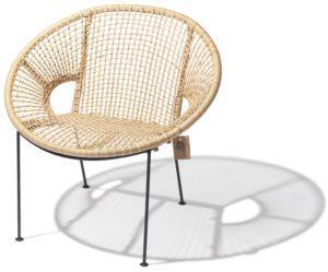 Ubud chair Fair Furniture angle view