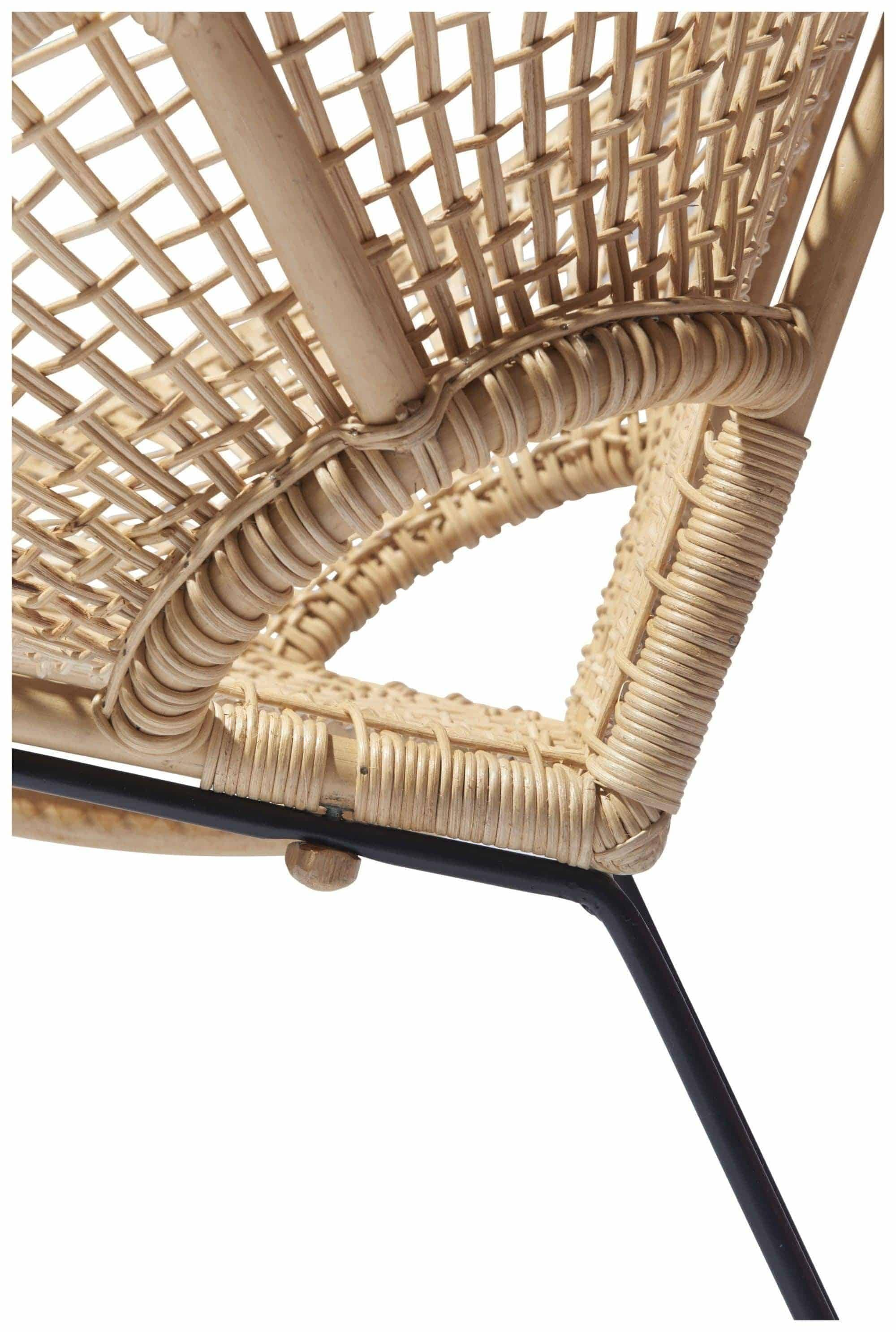 Silla Ubud fair furniture detalle ratán