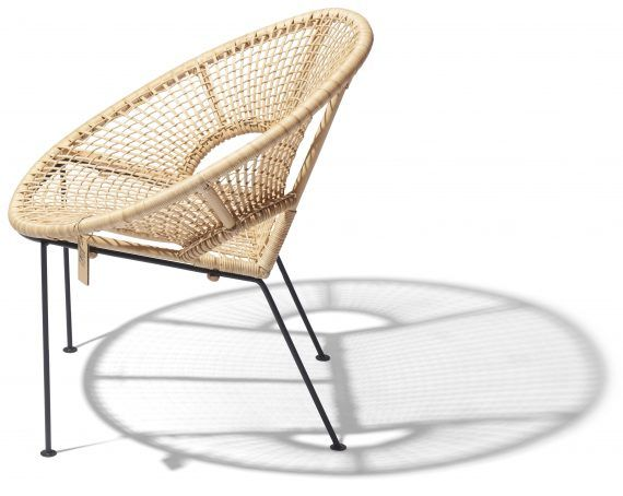 Ubud chair FairFurniture side view kopie