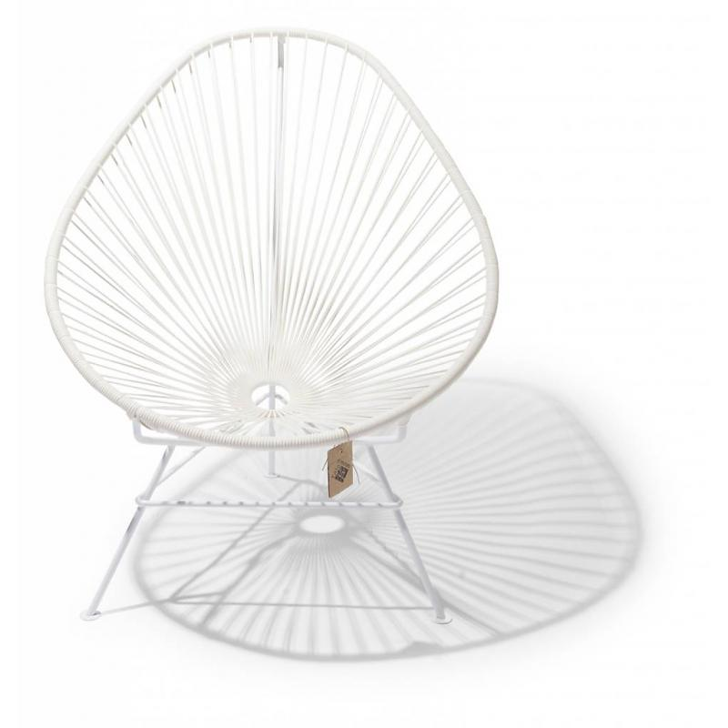 Acapulco chair, white, white frame Fair Furniture