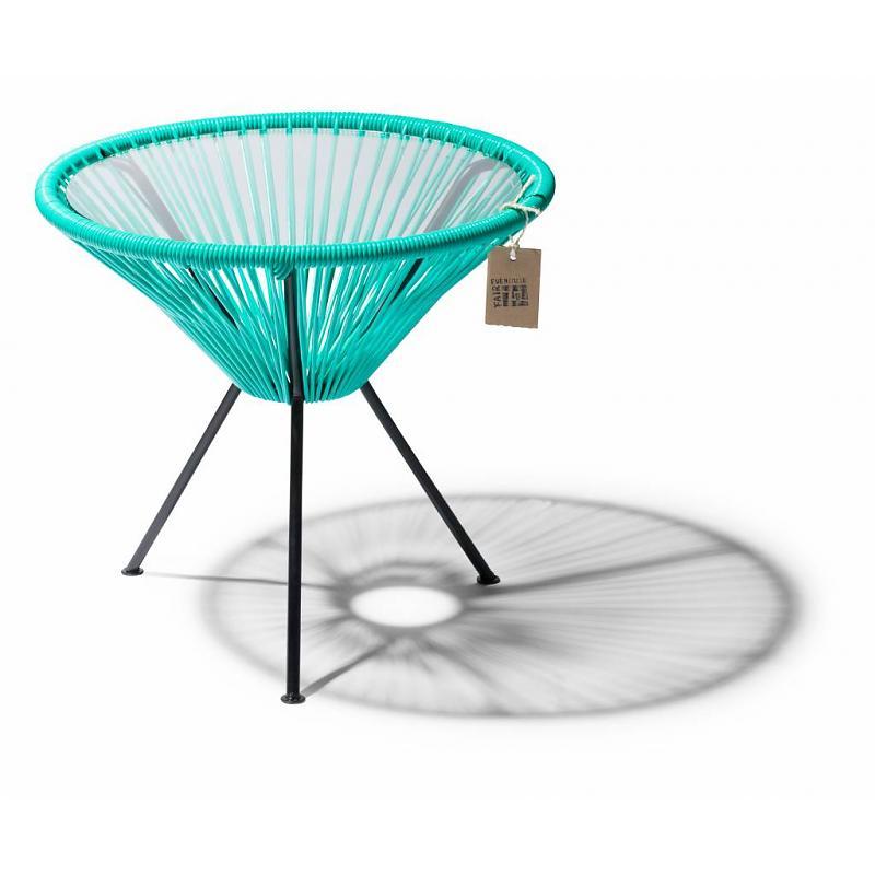 Mesa auxiliar turquesa Fair Furniture