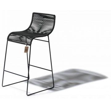 Black bar stool Fair Furniture