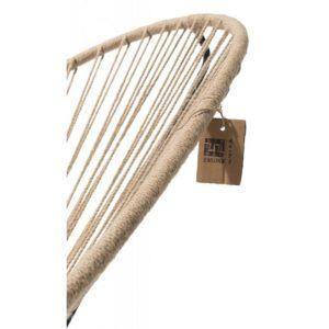 Detail hemp rope chair Fair Furniture