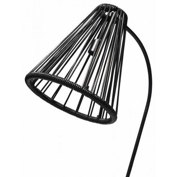 Kahlo vloerlamp zwart