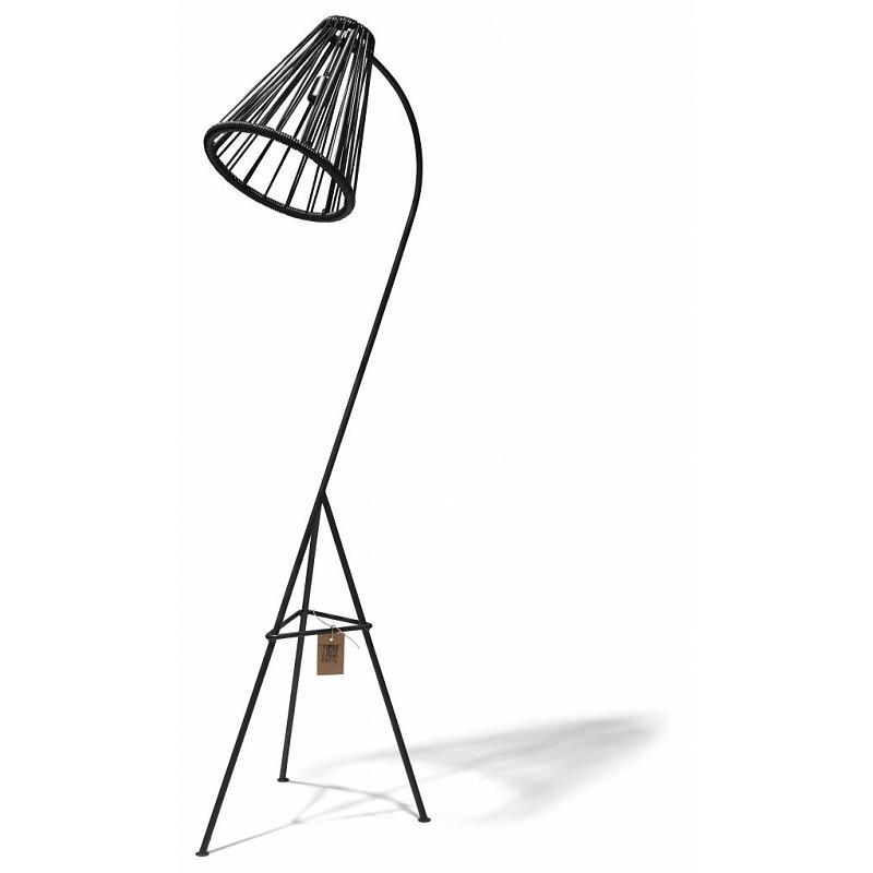 Lámpara de pie Kahlo Fair Furniture negro