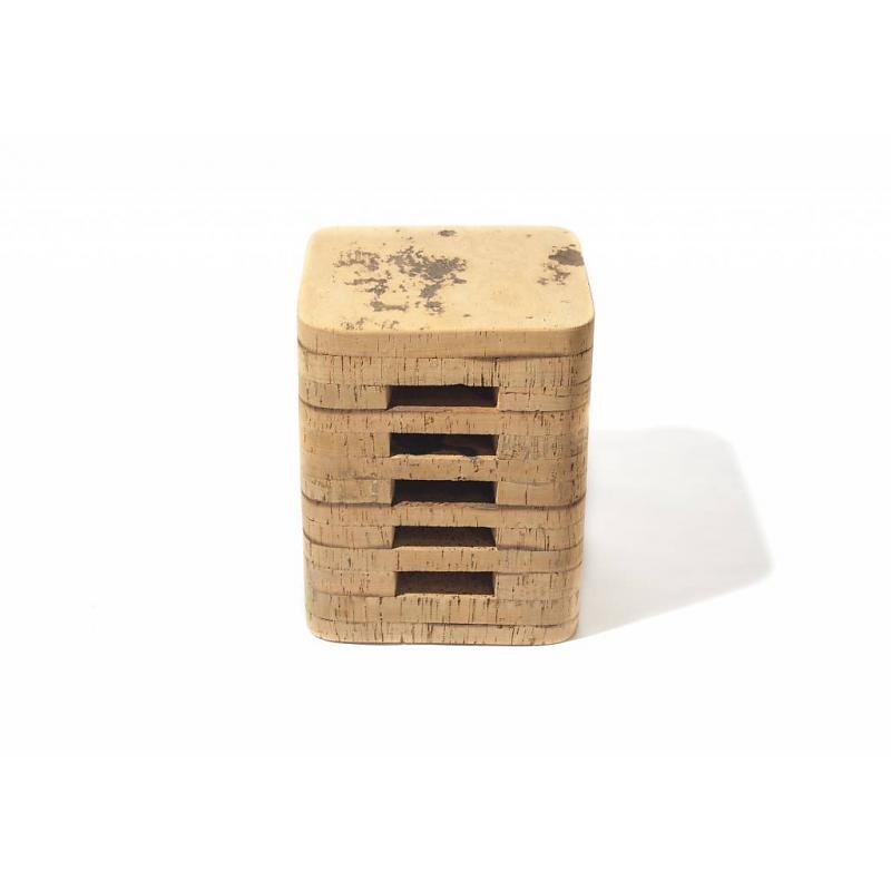 Fair Furniture cork stool square