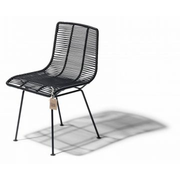 Fair Furniture Rosarito dining chair in black