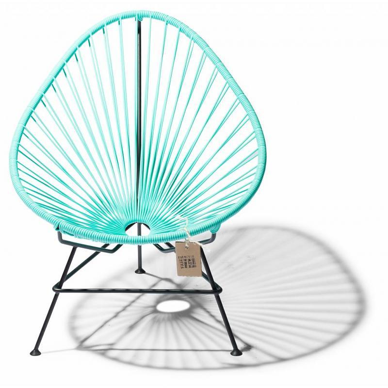 baby Acapulco stoel aqua/turquoise licht