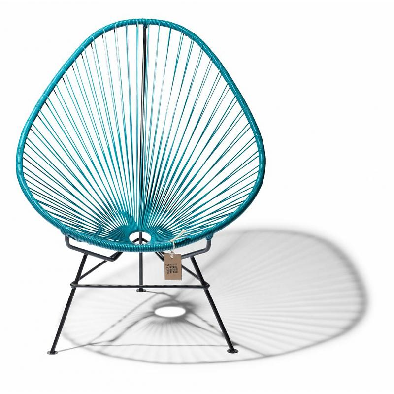 Acapulco chair petrol blue