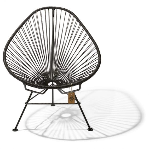 Acapulco chair black leather_1